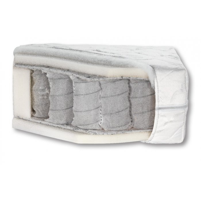 BOG-FRAN PRINCESS-140 140x200 cm taštičkový matrac - Jersey