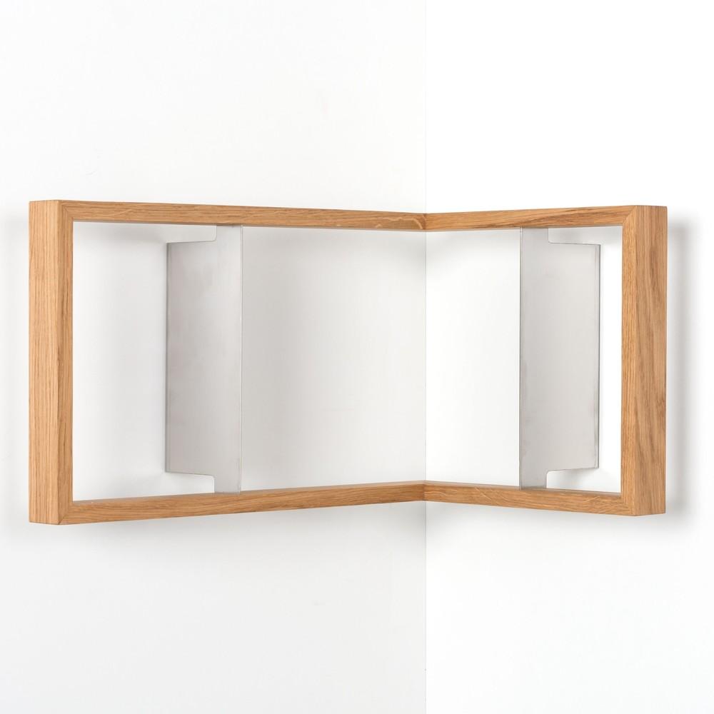 Rohová polica na knihy das kleine b b2, výška 25cm