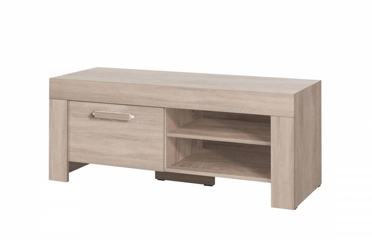 TV stolík/skrinka C15 (dub sonoma)