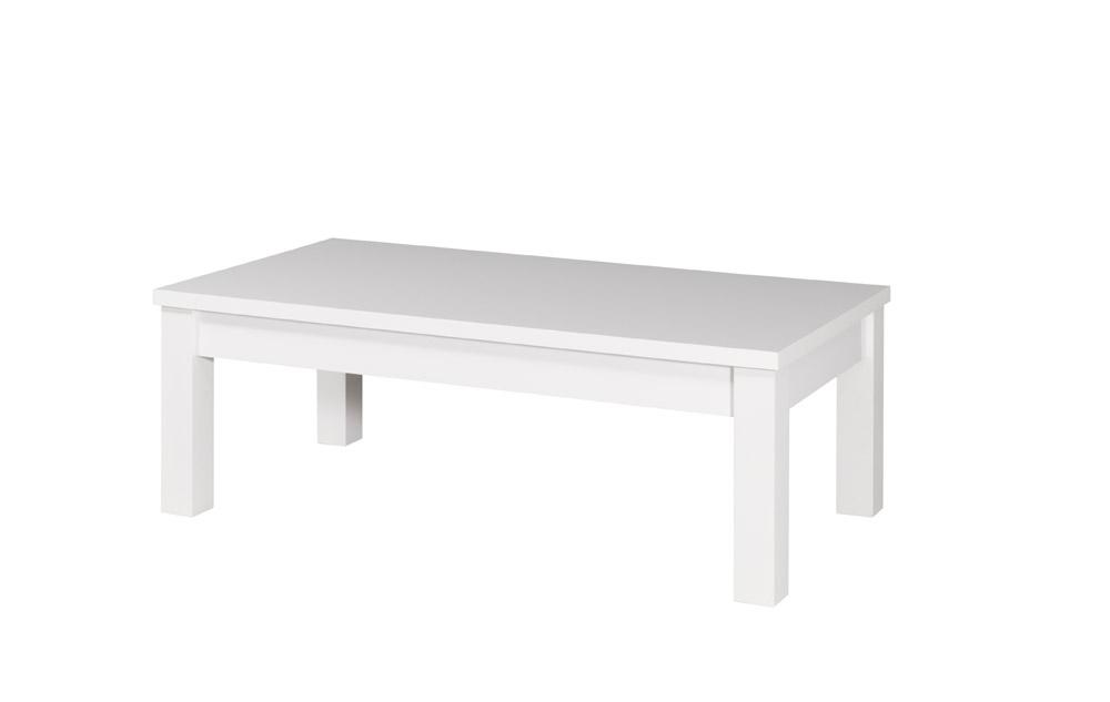 Konferenčný stolík Fabio 07   Farba: biely lesk