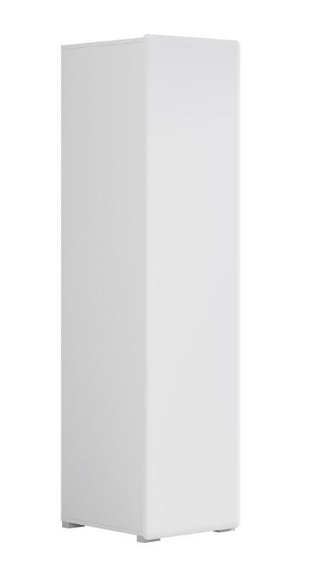Šatníková skriňa Possi Light SFW1D/19/5   Farba: Biela
