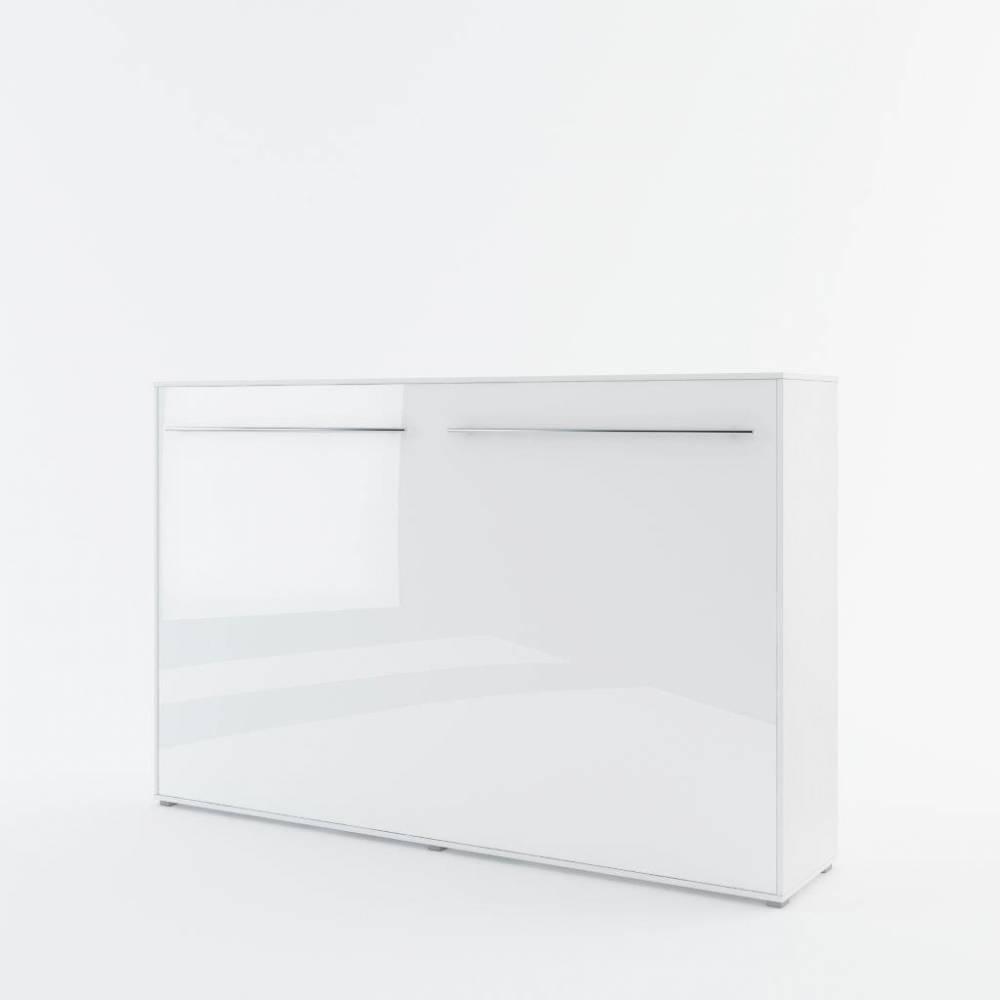 Sklápacia posteľ KOMFORT PRO CP-05, biely lesk