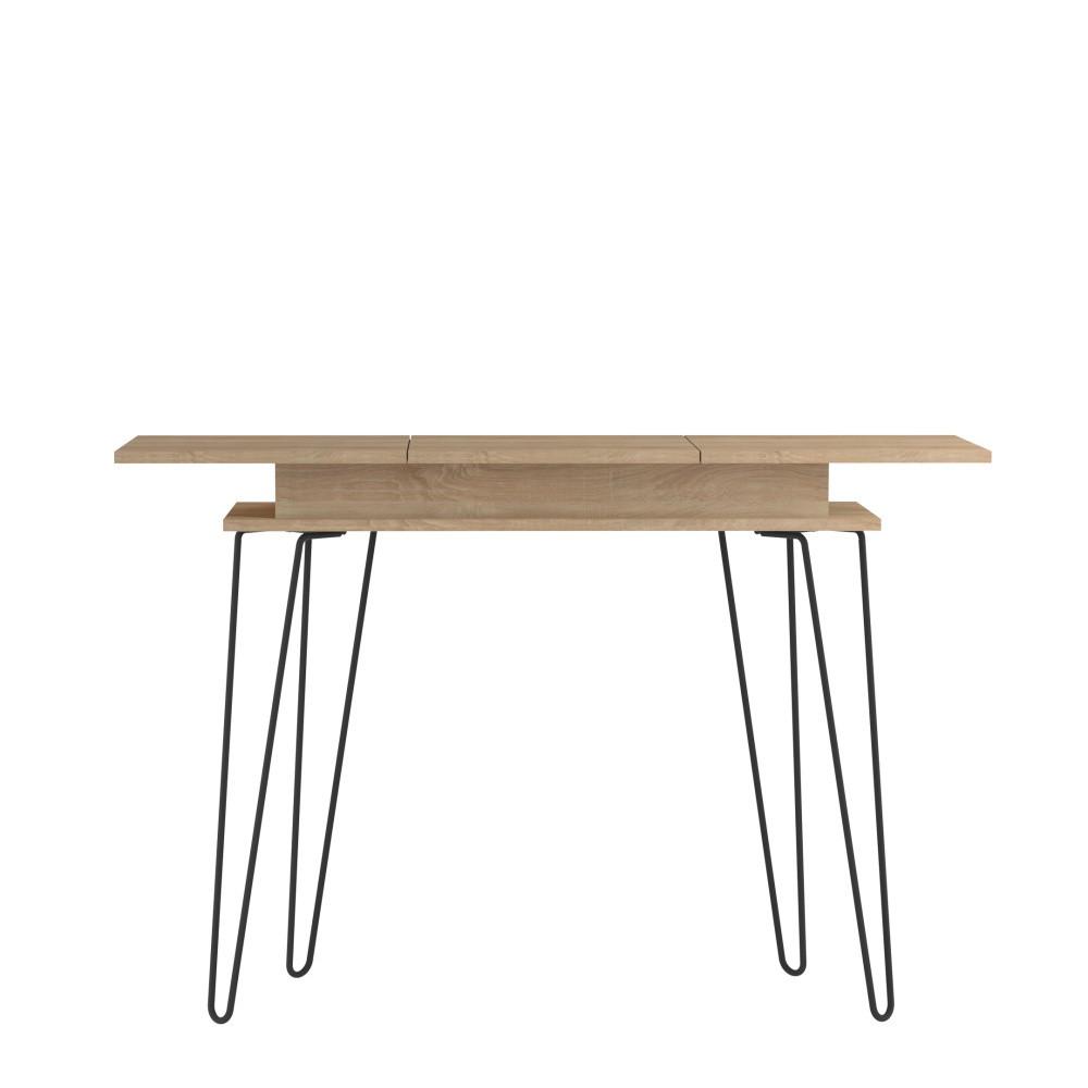 Svetlohnedý konzolový stolík Symbiosis Aero