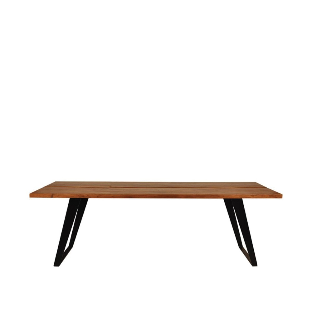 Jedálenská stôl s doskou z akáciového dreva LABEL51 Temba