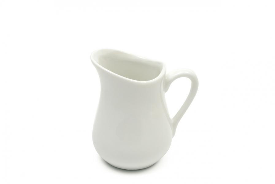 Kanvička na mlieko White Basic 110 ml