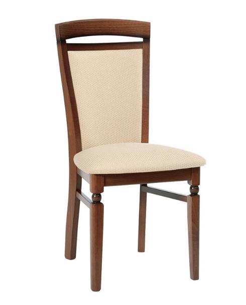 Jedálenská stolička Bawaria DKRSII   Farba: Orech taliansky / béžová