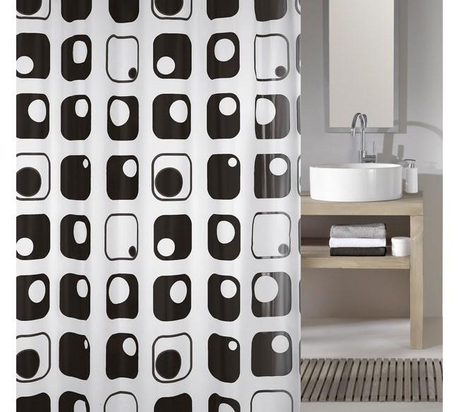 Meusch Koupeĺňový záves Quaddra, šedý, 180 x 200 cm