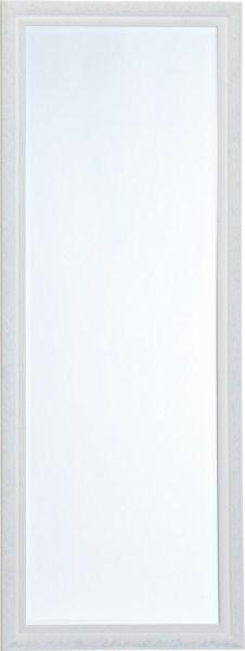 Nástenné zrkadlo VERNA - biela/strieborná