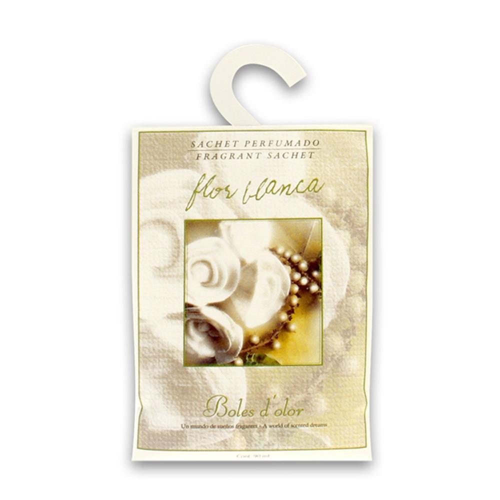 Vonné vrecúško s vôňou bielych kvetov Boles d'olor