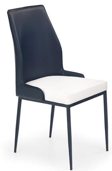 Jedálenská stolička K199 čierno-biela