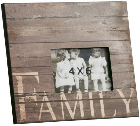 Fotorámik FAMILY - hnedá