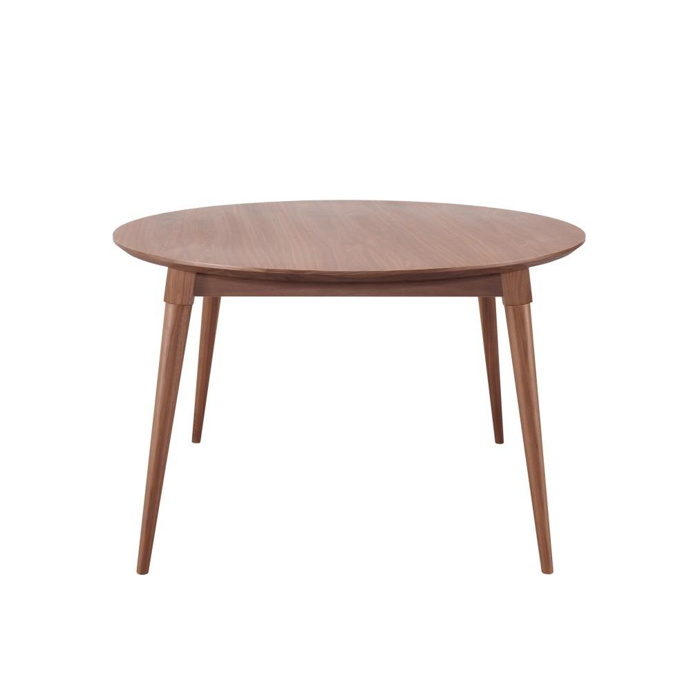Jedálenský stôl z orechového dreva Wewood - Portugues Joinery Maria, Ø 130 cm