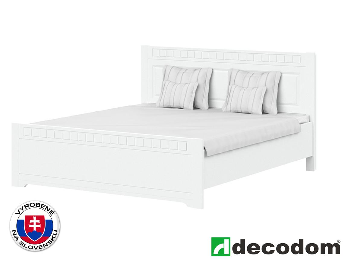 Manželská posteľ 180 cm Decodom Lirot Typ P-180 (biela arctic)
