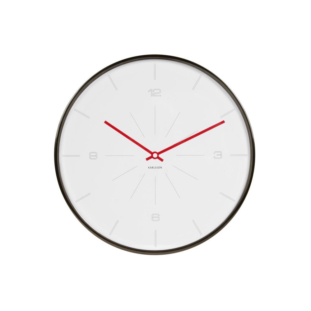 Biele hodiny Present Time Line