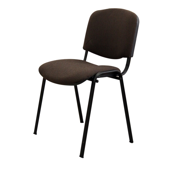 Kancelárska stolička ISO BLACK A-43 HNEDA U