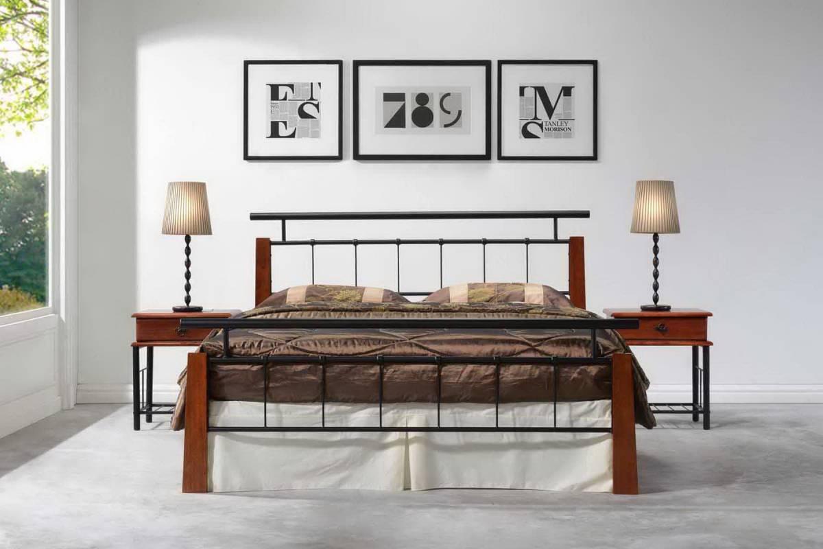 Kovová posteľ HERO 180