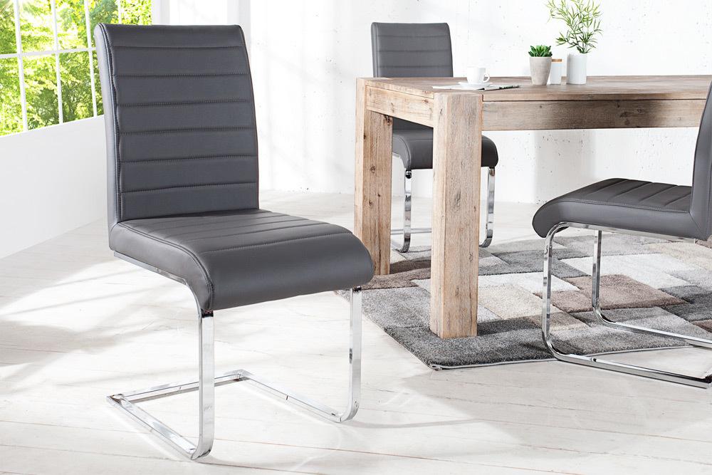 Stolička STURTT - sivá