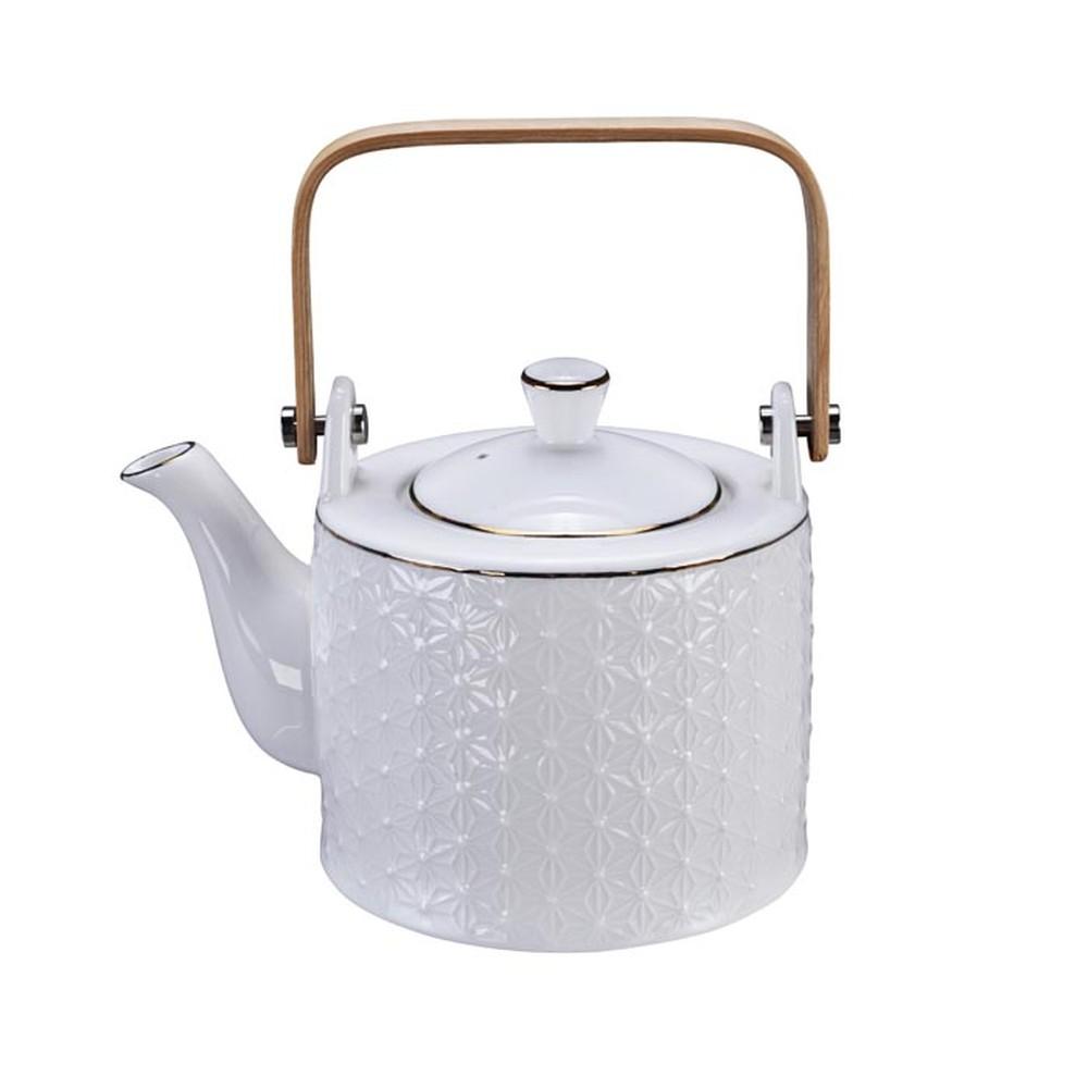 Biela kanvička na čaj Tokyo Design Studio Nippon Wave, 800 ml