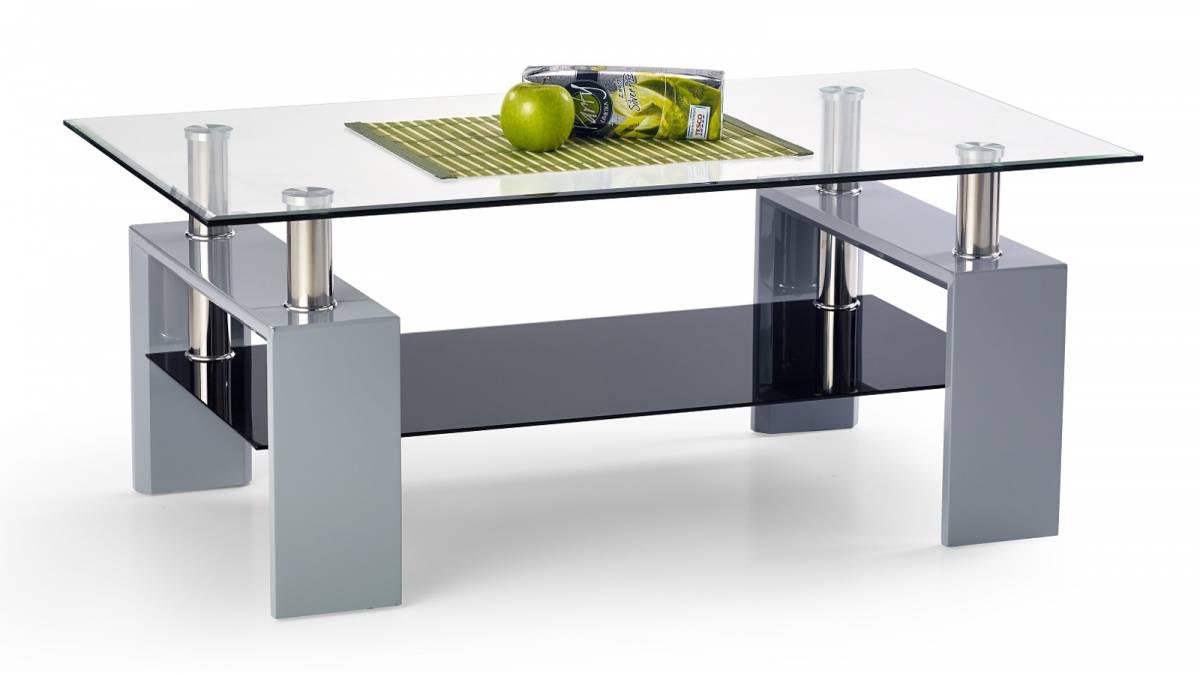 Konferenčný stolík Diana II šedá