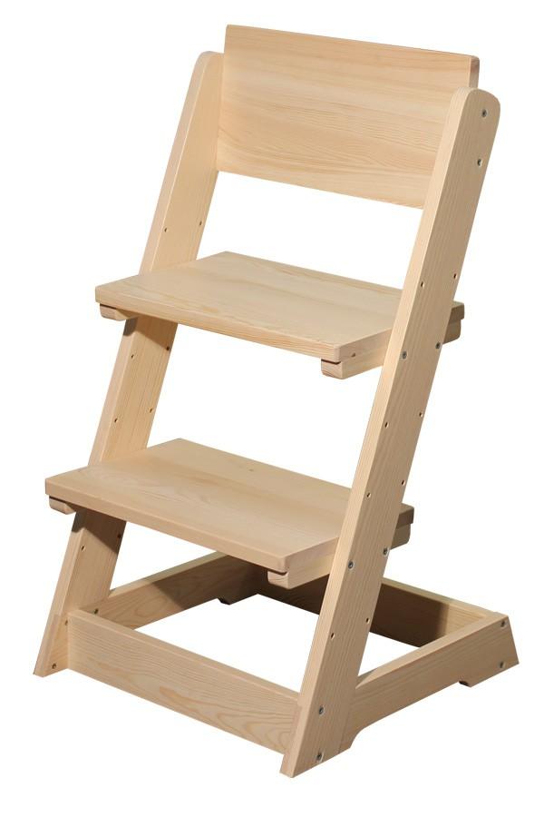 Bradop Detská stolička, celodrevená polohovacie B163