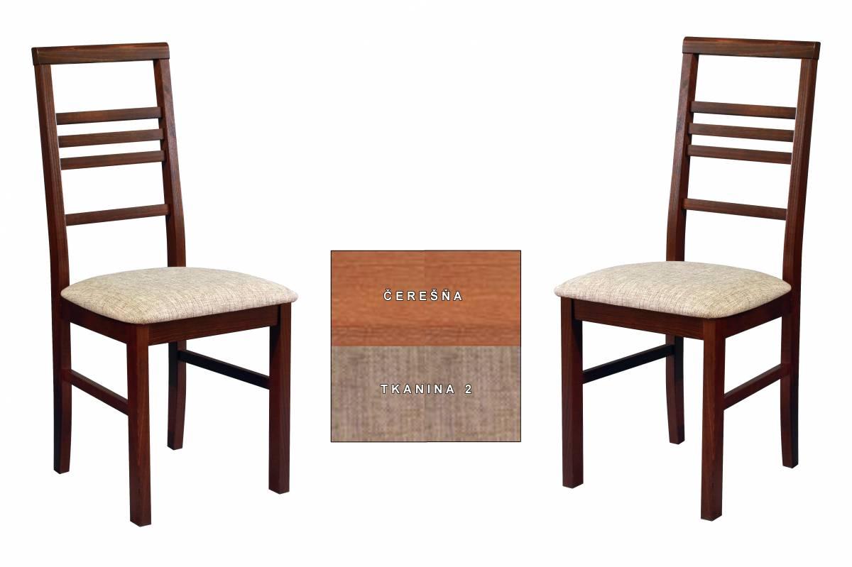 Set 2ks. jedálenských stoličiek