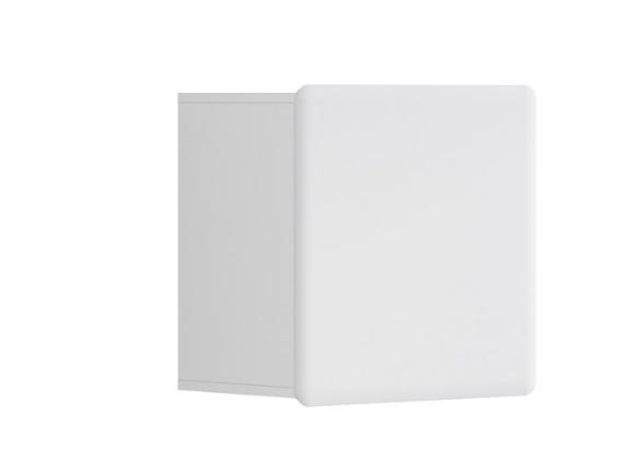 Závesná skrinka Possi Light SFW1D/5/5 L   Farba: Biela