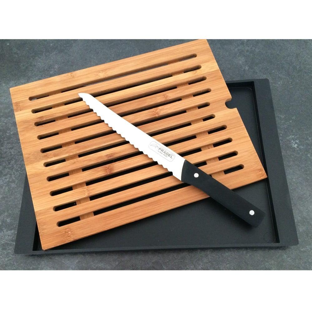 Doštička na krájanie chleba s nožom Jean Dubost