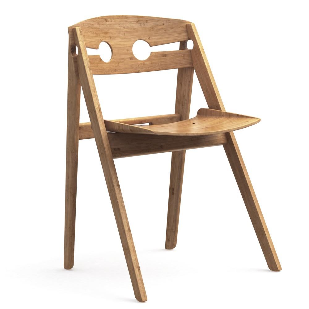 Jedálenská stolička s bambusovou konštrukciou We Do Wood