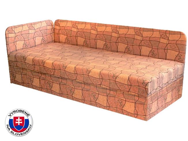 Jednolôžková posteľ (váľanda) 80 cm Edo 4/1 (s pružinovým matracom) (L)