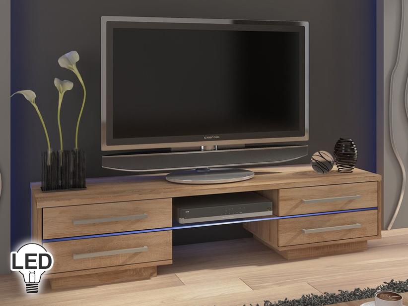 TV stolík/skrinka Laguna (sonoma svetlá)