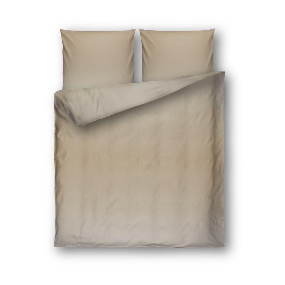 Béžové damaškové obliečky Casa Di Bassi Basic, 200×200 cm